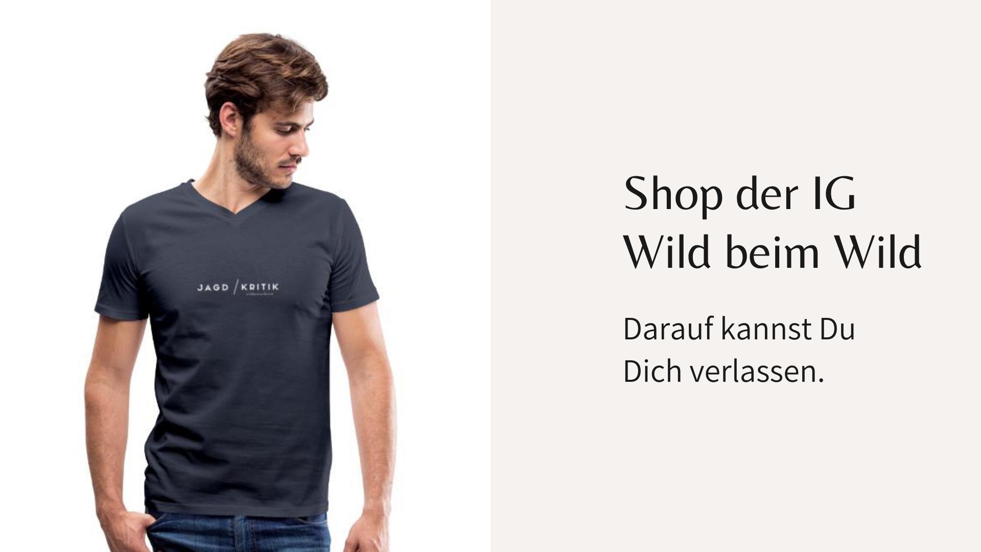 Shop der IG Wild beim Wild