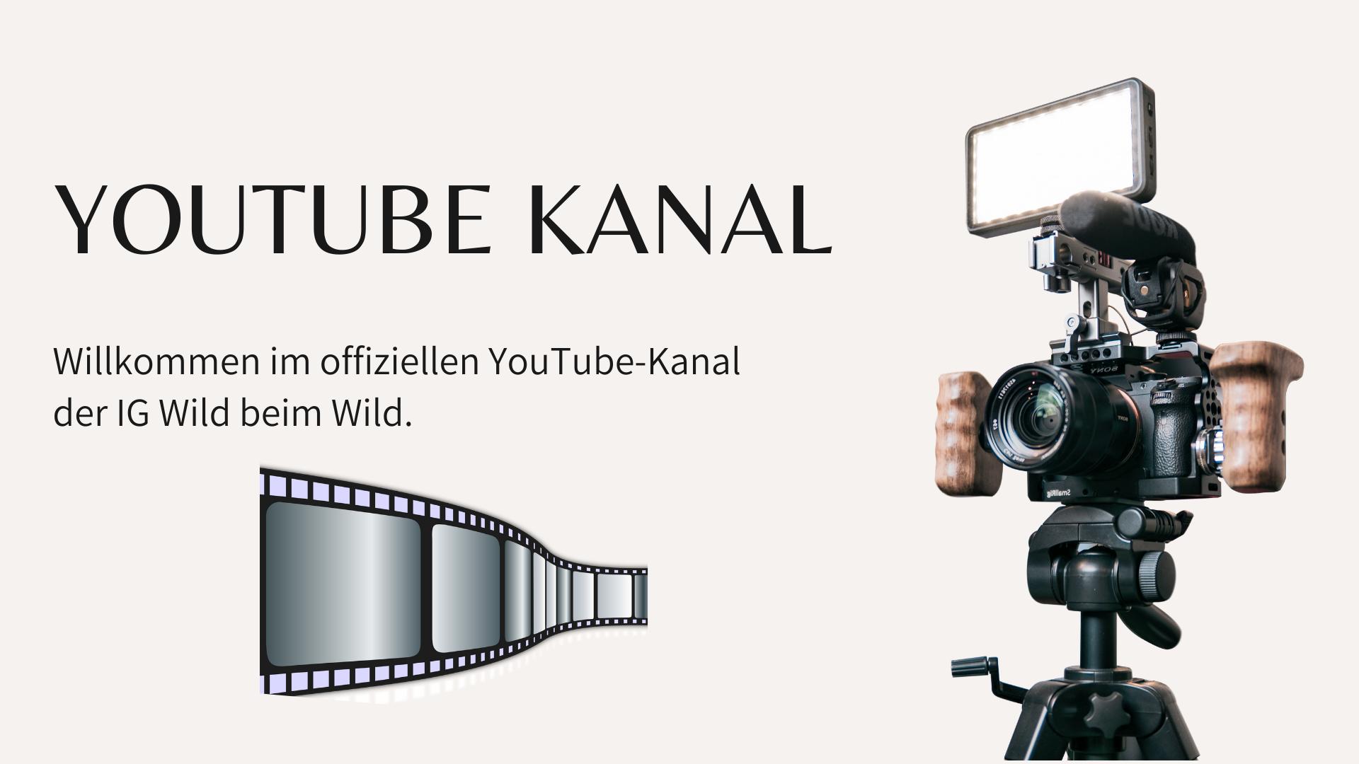 Youtube Kanal Wild beim Wild