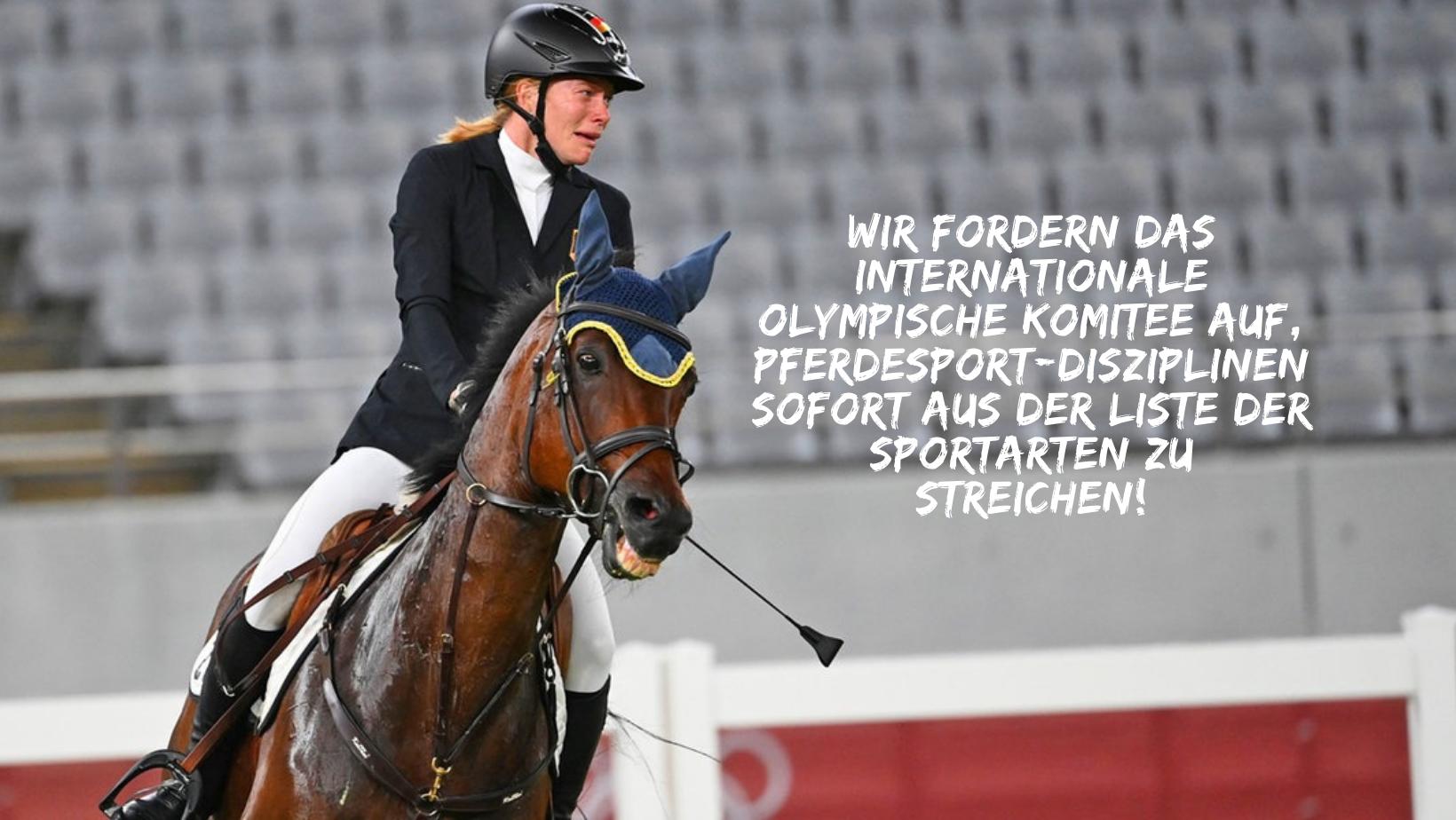 Petition: Keine Pferdesport an olympischen Spielen